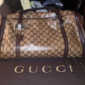 Gucci crystal purse